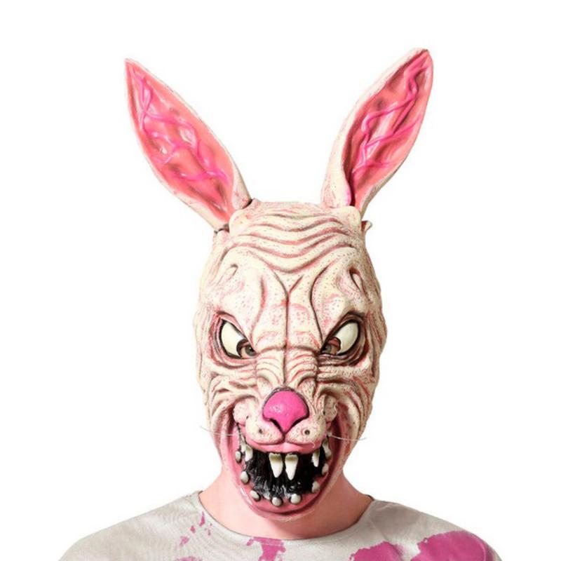 Máscara Halloween Coelho Látex