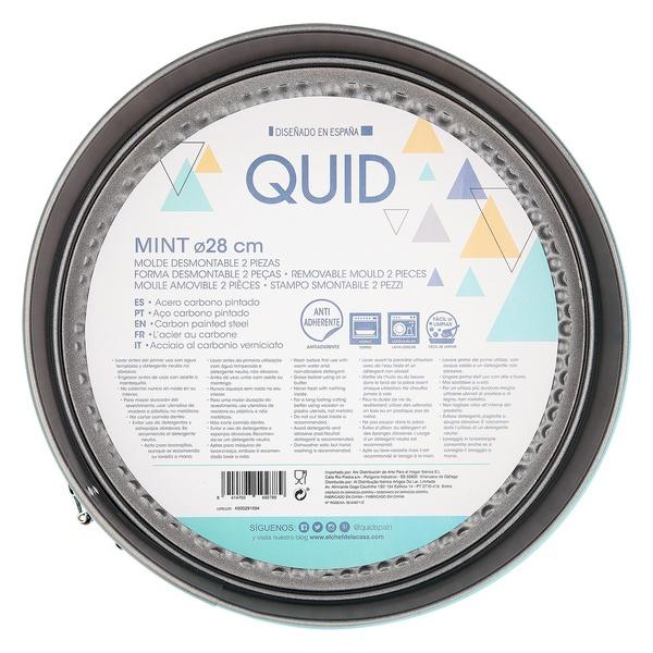 Molde Desmontável Quid Mint Aço inoxidável (28 x 6,8 cm)