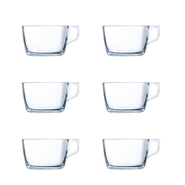 Conjunto de Chávenas Luminarc Nuevo Transparente Vidro (0,5 L) (6 pcs)